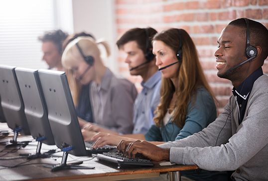 Your Voice Link Services - Call CEnter
